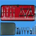 8 unids cuerpo de acero inoxidable 316 Kits de herramienta Piercing para Ear Nose Navel fuente de alimentación envío gratis