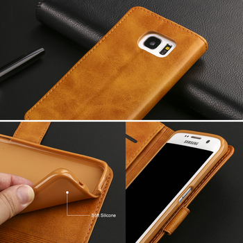 Galaxy S7 Edge Leather Wallet Case 5