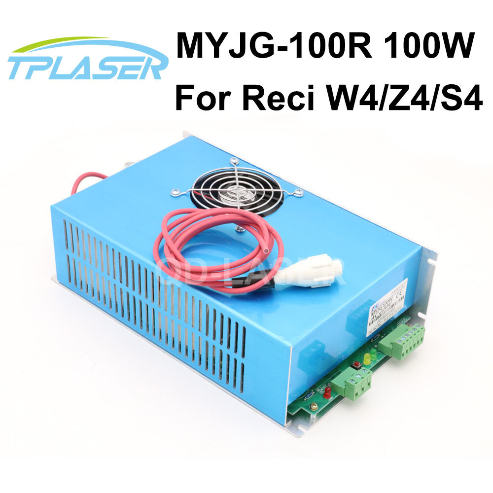 100W CO2 Laser Power Supply MYJG-100 for CO2 Laser Engraving Cutting Machine co2 laser machine laser path size 1200 600mm 1200 800mm