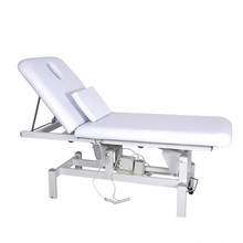 Electric Facial bed Massage Table with Motorized Height and Backrest Salon Spa Facial Bed & Tattoo Table Salon Furniture Beauty(China)