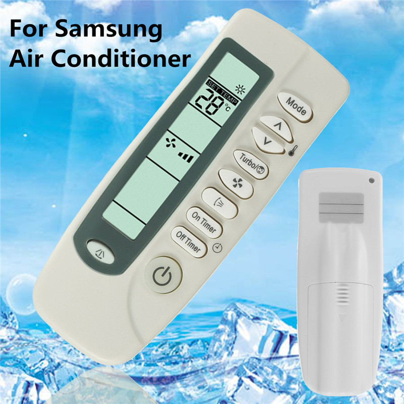 3V DC Universal Remote Control Suitable For Samsung Air Conditioner ARH-428 454 ARC-701 406 755 Air Conditioning Parts universal 1 5 lcd air conditioner a c remote control controller white 2 x aaa