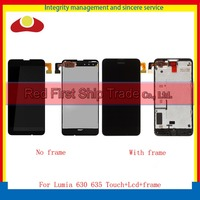 10pcs Lot DHL High Quality 4 5 For Nokia Lumia 630 635 Full Lcd Display With