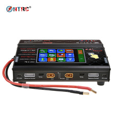 HTRC HT306 DC DUO 600W 2 30A 2 Dual Port 4 3 Color LCD Touch Screen