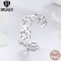 bisaer-925-sterling-silver-animal-footprints-rings-cat-dog-footprints-finger-adjustable-ring-for-women-925-jewelry-anel-ecr424