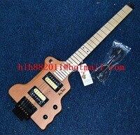 Neue Große John headless gitarre in natur mit erle korpus + EMS geben verschiffen F-3391