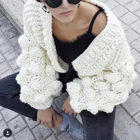 Knitted Cardigan Women Long Sleeve Autumn White Sweaters Women Winter 2019 Jumpers Ladies Tops Female Cardigans For Women