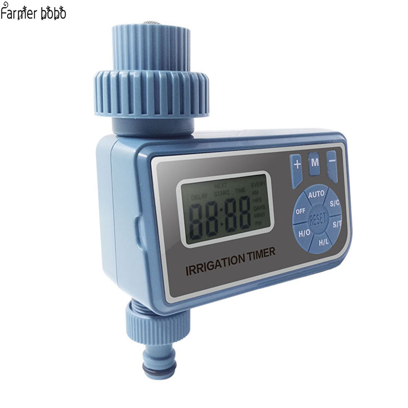 Automatic Electronic LCD Display Home Ball Valve Water Timer Garden Watering Timer Irrigation Controller System(China)
