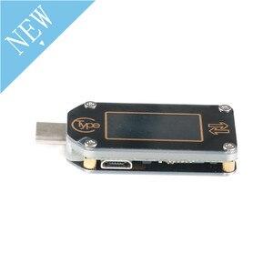 Image 4 - TC66 TC66C نوع C اللون LCD شاشة USB الفولتميتر مقياس التيار الكهربائي الجهد الحالي متر المتر بطارية PD سريع تهمة الطاقة USB Teste