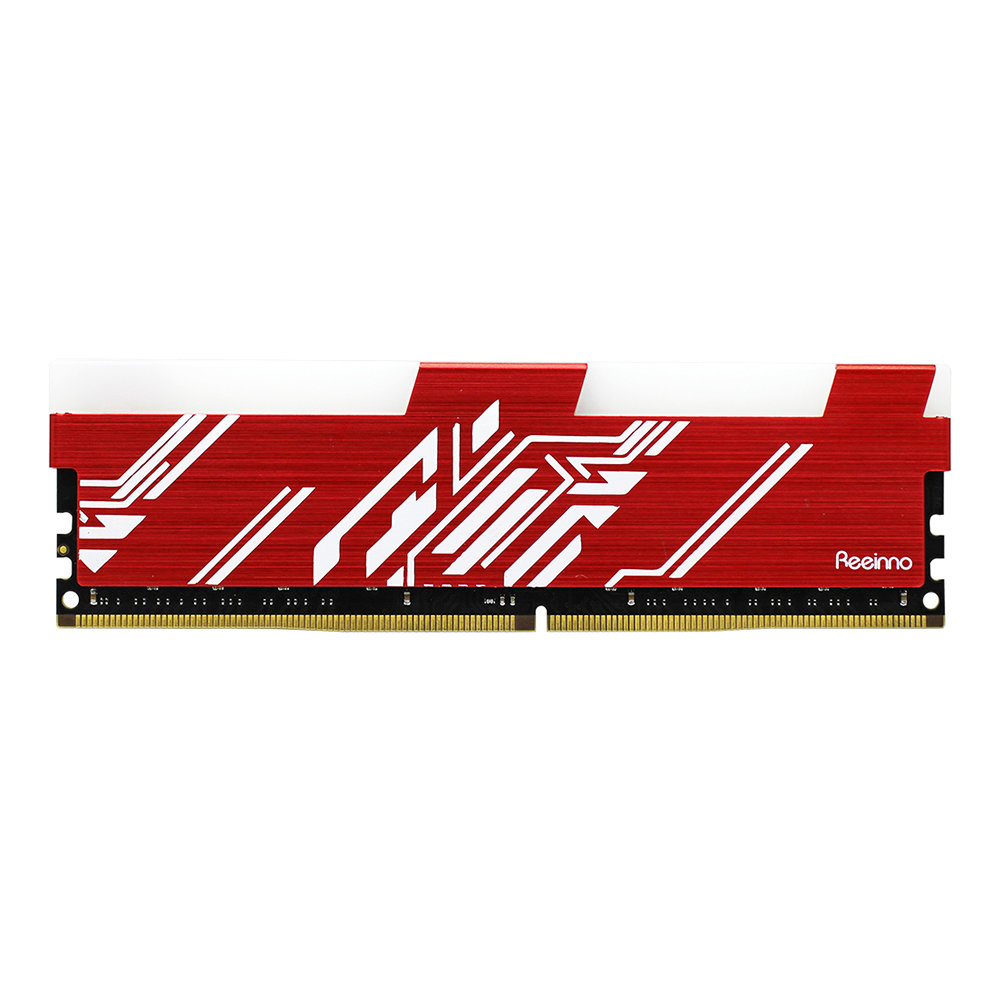 Reeinno DDR4 RGB RAM Memory 8GB 2666MHz Voltage 1.2V Interface Type 288pin 19200 17-17-17-39 Lifetime Warranty Single Memory RAM