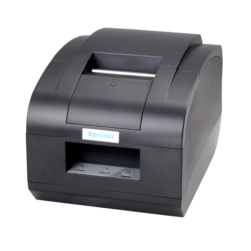 ФОТО wholesale brand new High quality 58mm pos printer With Automatic cutter   thermal bill receipt printer Print fast XP-C58N