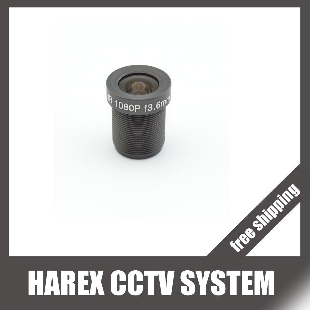 Объективы для систем видеонаблюдения, 2 Мп, 1080P, 3,6 мм/6 мм, опционально, для HD Full HD камер видеонаблюдения, для 720P и 960P IP камер M12 * 0,5 MTV, крепление, бесплатная доставка|cctv lens|3.6mm lens6mm cctv lens | АлиЭкспресс