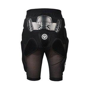 Image 4 - 1 セットオートバイのジャケットショートパンツ膝保護手袋モトクロス鎧モトクロススーツ服バイクモト手袋
