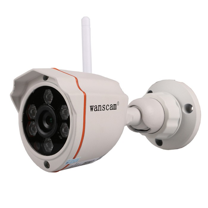 ФОТО Wanscam New Arrival HW0050 P2P H.264 720P HD ONVIF IR Cut IR 40m Wireless Wifi Outdoor Waterproof IP Camera Surveillance Camera