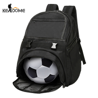 Football Basketball Backpack Academy Gym Fitness Bag for Shoes Mesh Storage Rucksack Waterproof Oxford Training Bag Male XA270WD