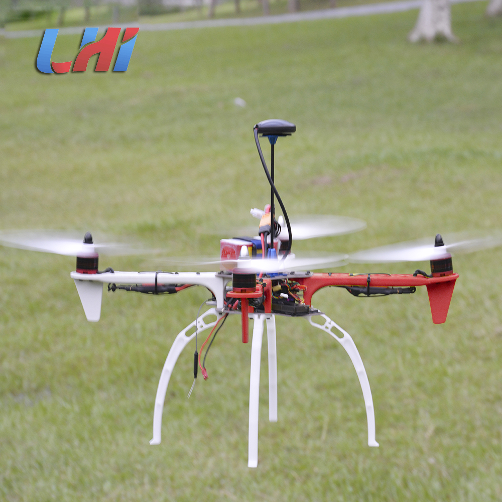 LHI F450 Quadcopter Kit Frame Rack brushless motor 450 esc APM2.6 and 6M 7M 8M GPS 2212 920KV simonk 30A 9443 props Dron drone