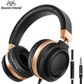 Sound Intone C9 Stereo Bass Over Ear Headphones 3.5mm Audio with Microphone and Volume Control Wired Headphone for Phones Music