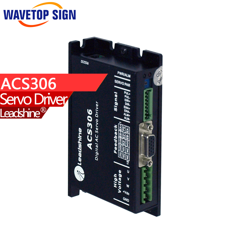 LEADSHINE ACS306 - Brushless Servo Drive; Max 30 VDC  15A dcs810 leadshine digital dc brush servo drive servo amplifier servo motor controller up to 80vdc 20a new original