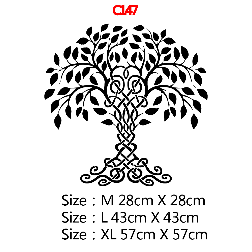 Luxuriant Tree Wall Art Sticker Modern Wall Decals Quotes Vinyls Stickers For Kids Room Living Room Home Decor Removable Mural
