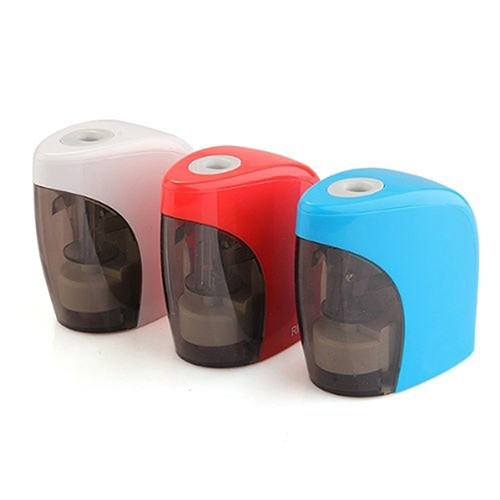 Electric Pencil Sharpener Automatic Desktop Cutter School Student Stationery Gift 2016 new affordable electric pencil sharpener automatic desktop school stationery office kids