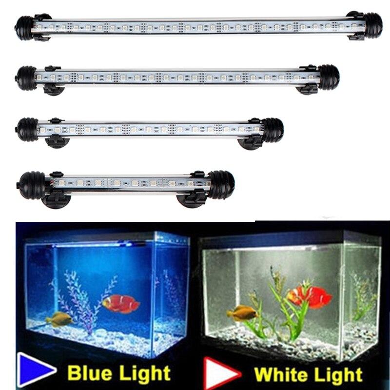 Aquarium Fish Tank 9/12/15/21 LED Light Blue/White 18/28