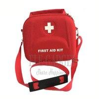Alta qualidade casa portátil à prova dwaterproof água kit de primeiros socorros vermelho eva saco para a família ou viagem tratamento médico emergência|aid kit|first aid kit|first aid kit bag -