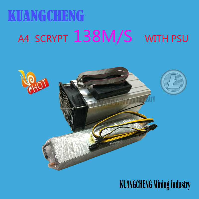 KUANGCHENG Mining industry sell LTC MINER Innosilicon A4 Dominator 138M Litecoin 14nm SCRYPT Miner better than
