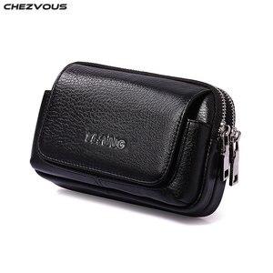 Image 1 - CHEZVOUS Cinghia Del Sacchetto Custodia In Pelle per iphone 7 8 6 x Clip da Cintura per Samsung S8 S7 S6 Classica Mobile gli Uomini del Pacchetto Della Vita del Sacchetto del telefono
