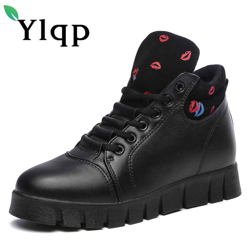 Ylqp Spring 2018 Fashionable Style Womens Warm Shoes Woman Breathable Leisure Shoes Female Sneakers Zapatos Mujer Flats