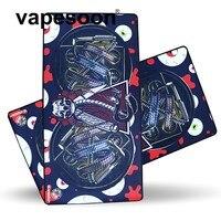 VapeSoon Proof Oil Vape Mat 78 5 40 Mm Electronic Cigarette Work Pad Atomizer Coil DIY