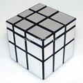 Shengshou 3 x 3 x 3 espelho cubo de ouro e prata Magic Cube velocidade Toy torção