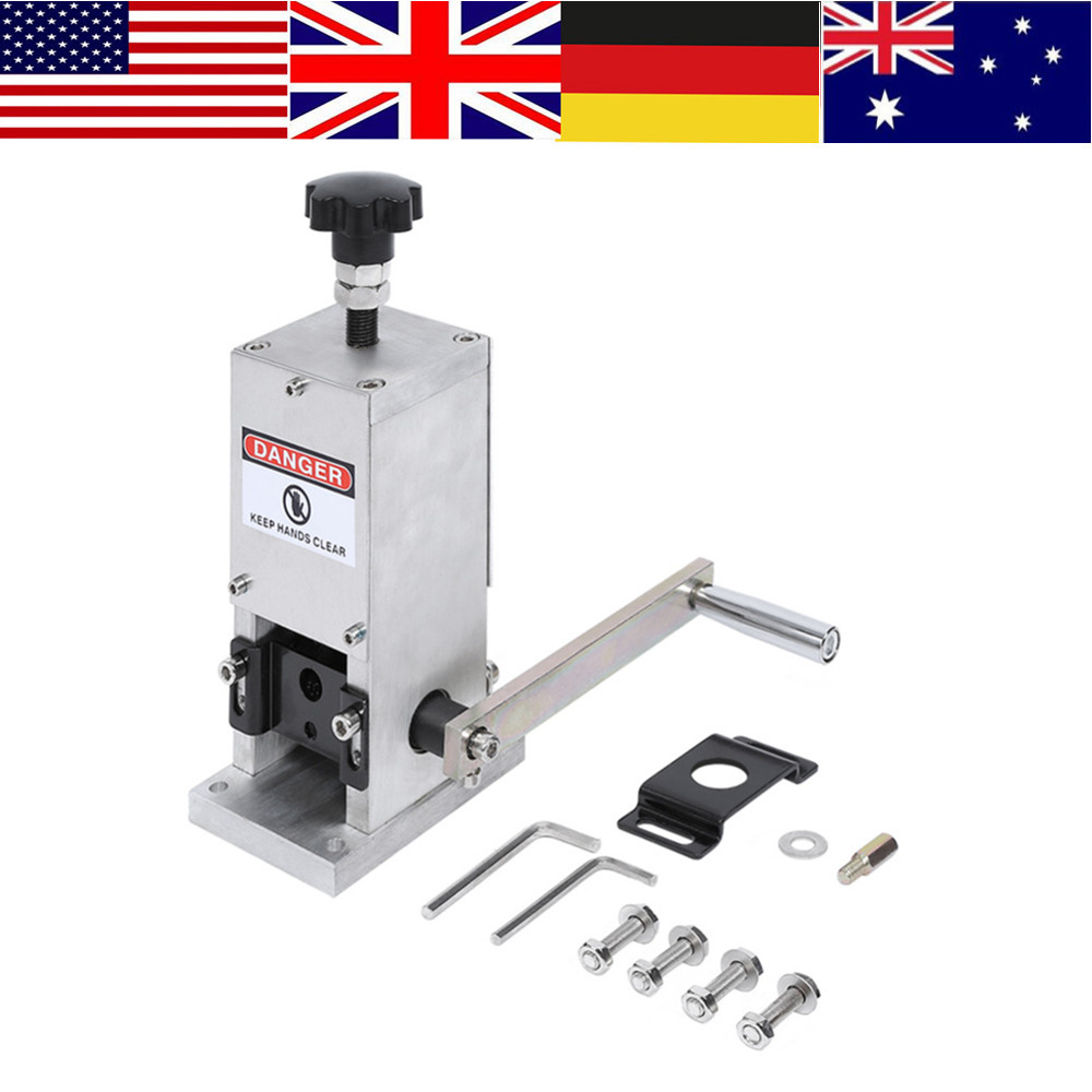 WALFRONT Cable Stripper Wire Stripping Machine Aluminum Alloy Copper ...