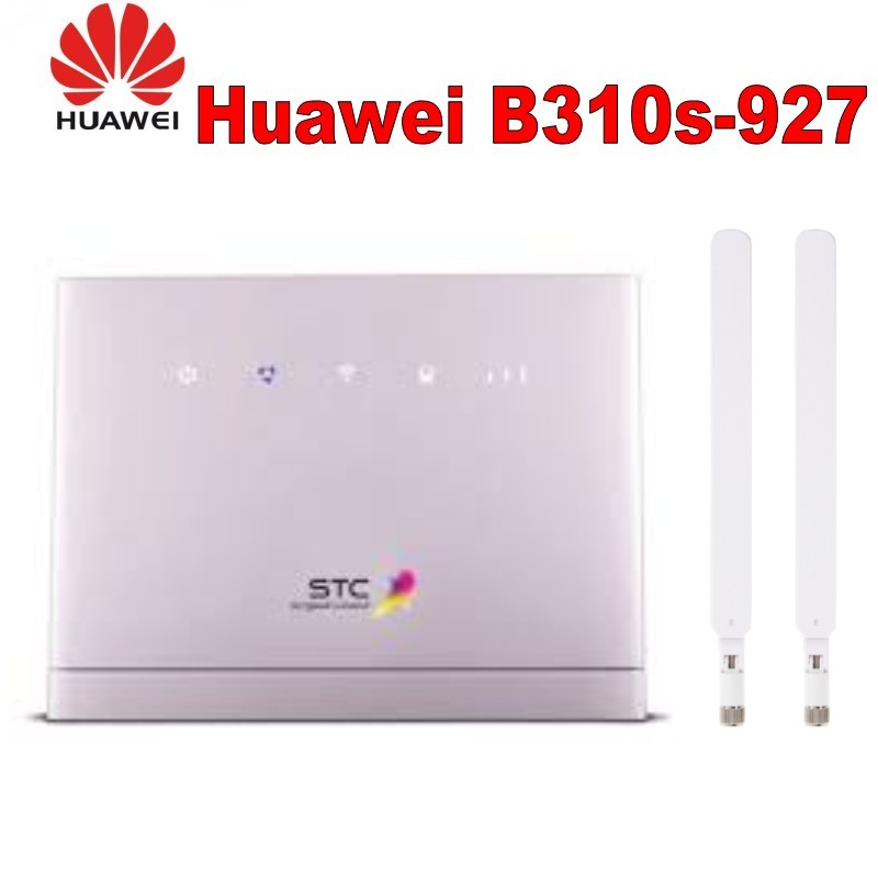 Unlocked Huawei B310s 927 LTE FDD 900/1800/2100Mhz TDD 2300M WIFI Mobile Wireless VOIP Router + 2PCS ANTENNA
