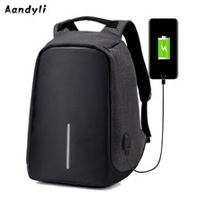 Multi-function Men's and Women's backpack Students Anti theft Travel Laptop backpack USB charging backpack