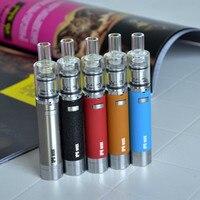 2pcs Lot LVsmoke Dry Wax Electronic Cigarette Kit 1600mAh Built In Herbal Vaporizer E Cigarettes Dry