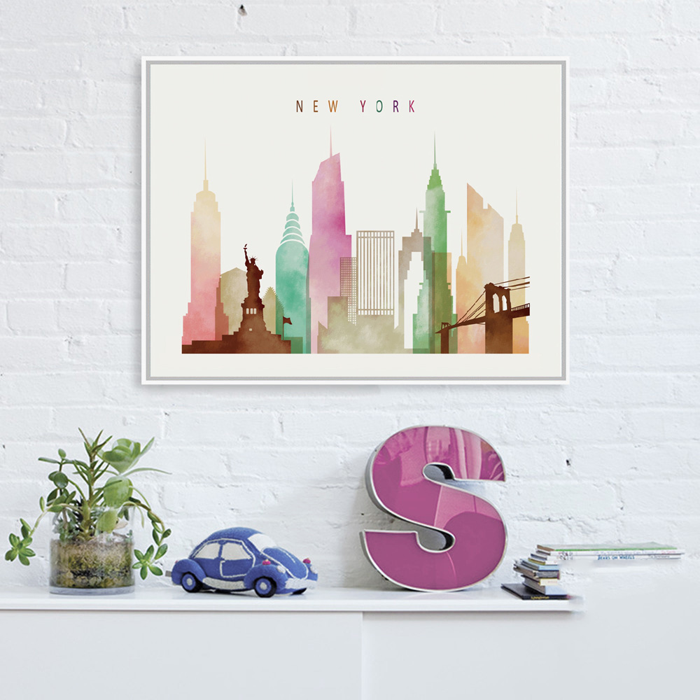 London/Paris/New York Paintings Nordic Decoration Canvas Minimalist Wall  Art Picture Painting Living Room Bedrooms Home Decor In Painting U0026  Calligraphy From ...