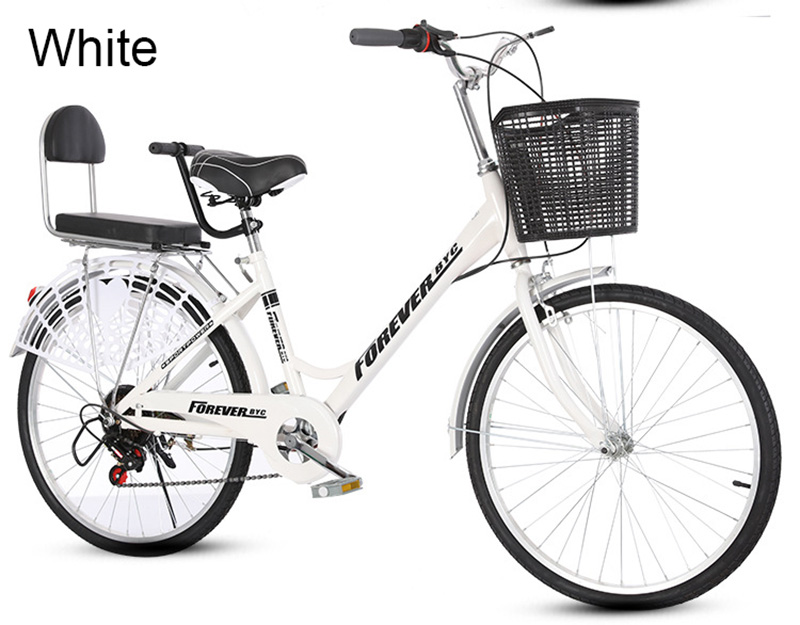 Excellent 26 Inch Speed Change Adult Bicycle Male And Female Student Bicycle Ordinary Bicycle 13
