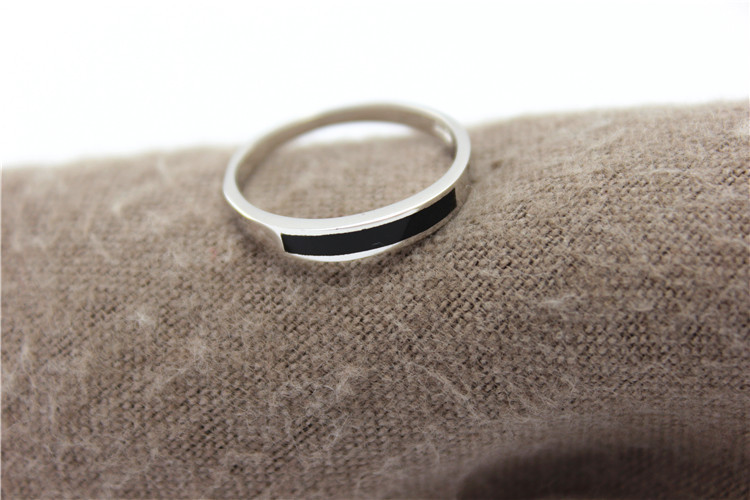 thin band mens rings womans gold skinny ring wedding media