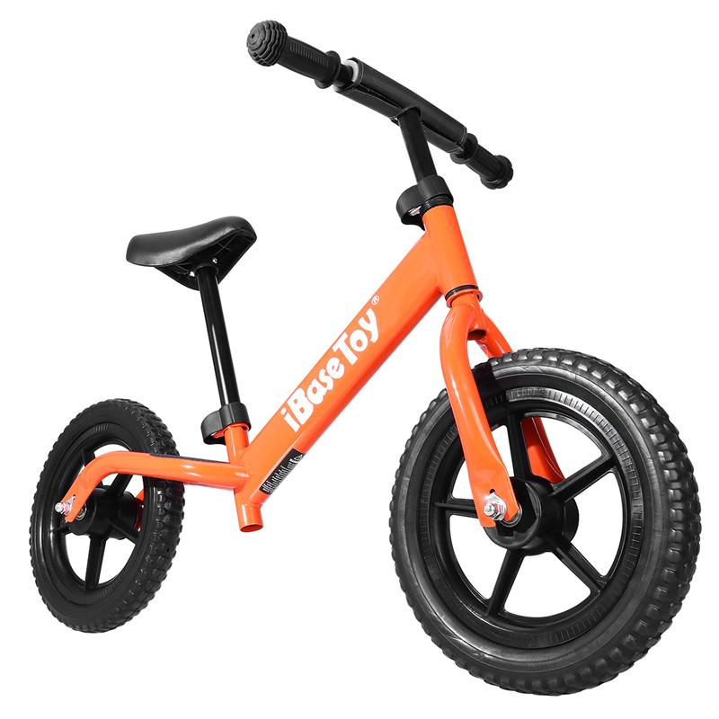 Push Glid Child Balance Sliding Bicycle Toy Kids Bike Children Sport Walking Bicycle with Adjustable Handlebar (Orange) 12 14 16 kids bike children bicycle for 2 8 years boy grils ride kids bicycle with pedal toys children bike colorful adult