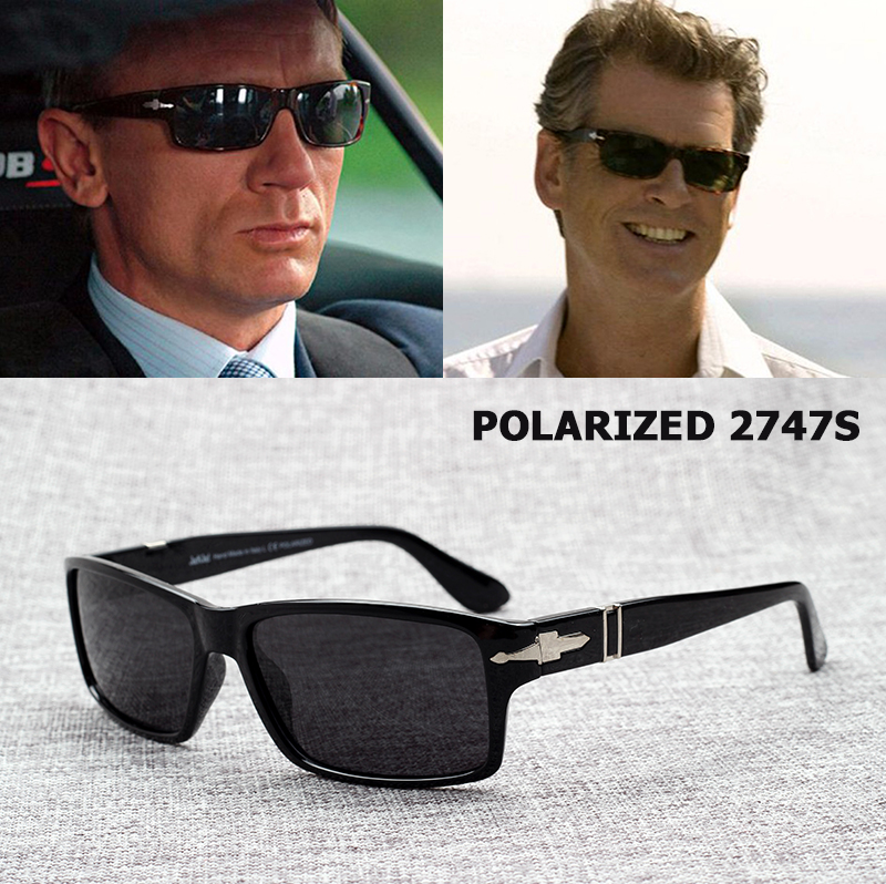 JackJad Fesyen Lelaki Polarized Memandu Cermin Kaca Mata Misi Impossible4 Tom Cruise James Bond Sun Glasses Oculos De Sol Masculino