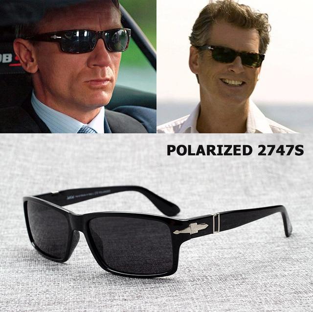 0f08a14f6 JackJad Moda Masculina óculos Polarizados Condução Óculos De Sol Missão  Impossible4 Tom Cruise James Bond Óculos