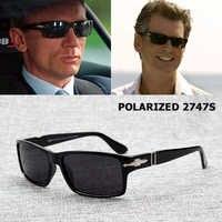 Jackjad moda homem polarizado condução óculos de sol missão impossible4 tom cruzeiro james bond óculos de sol