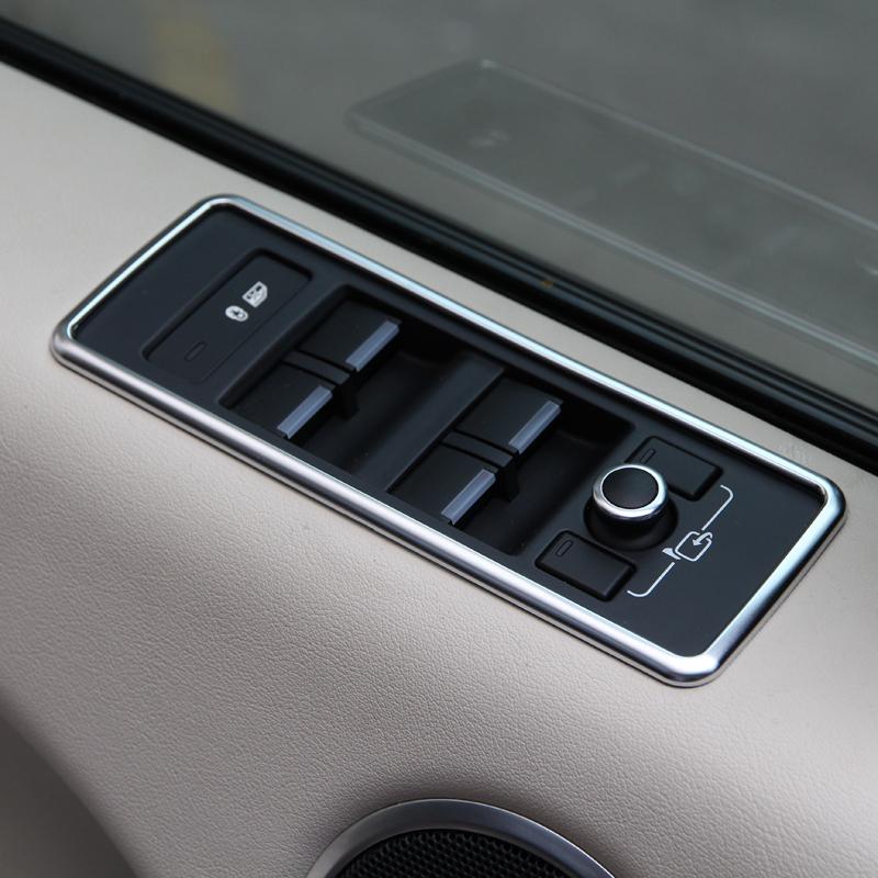chrome window button cover trim sticker for range rover sport 2014 2015 auto accessories car styling  (7).JPG