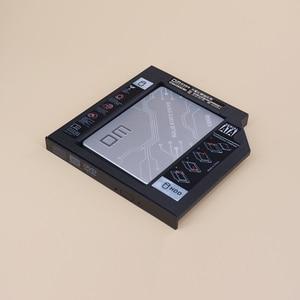 DM SSD Adapters DW127 12.7mm Plastic Optibay SATA 3.0 Hard Disk Drive Box Enclosure DVD Adapter 2.5 SSD 2TB For Laptop CD-ROM