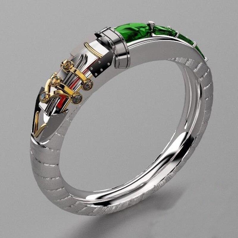 Hero es union entourant bijoux personnalisés LOL thème héros alchimiste Sinjid anneau de bijoux personnalisés
