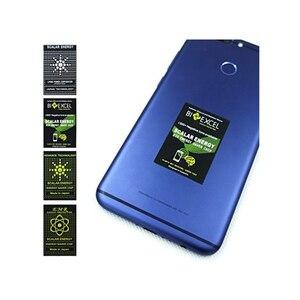 Image 4 - Pegatina de energía escalar EMR para teléfono, Protector Anti Chip de radiación para mantener la salud del ordenador portátil, protección Anti EMP EMF para mujeres embarazadas, 50 Uds.