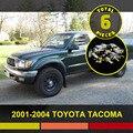 6x Etiqueta Del Coche LED Kit Paquete Interior Mapa Dome Light Fit para Tacoma 2001-2004 Blanco Azul Rojo Rosa bombilla #80