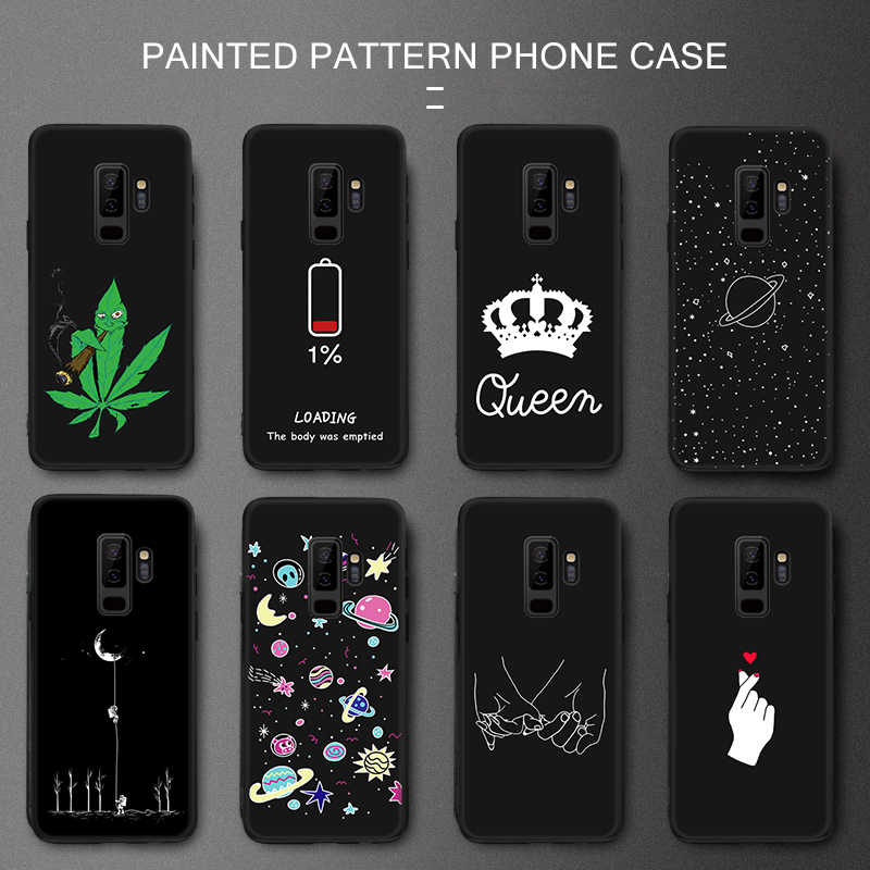 Case For Samsung Galax S8 S9 S10 A7 A8 A6 Plus 2018 Universe Space Pattern TPU Cover for Samsung Galaxy A5 A7 2017 S10E Note 8 9