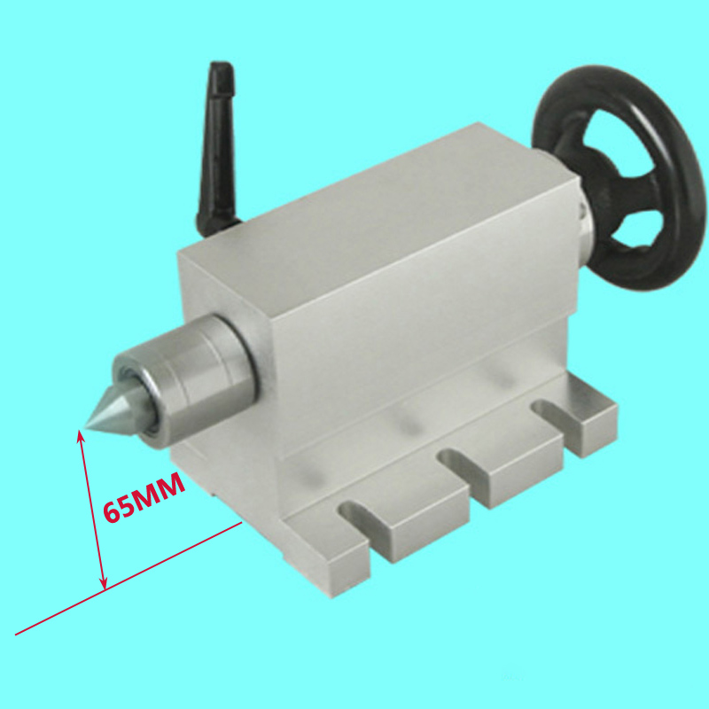 CNC tailstock 4 Axis MT2 Rotary Axis Lathe Engraving Machine Chuck mt2 rotary axis lathe engraving machine chuck for mini cnc router engraver