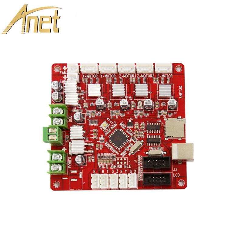 1PCS Anet V1.0 3D Printer Control board for Anet A8 & A6 & A3 & A2 3D Printer Reprap i3 3D Printer Mather board 4 colors