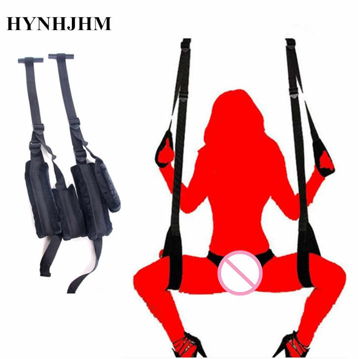 0a0439e30a0 New Sexy Exotic Apparel Swing Chairs Furniture Love Door Swing Sex Toys for Couples  Restraint Fetish
